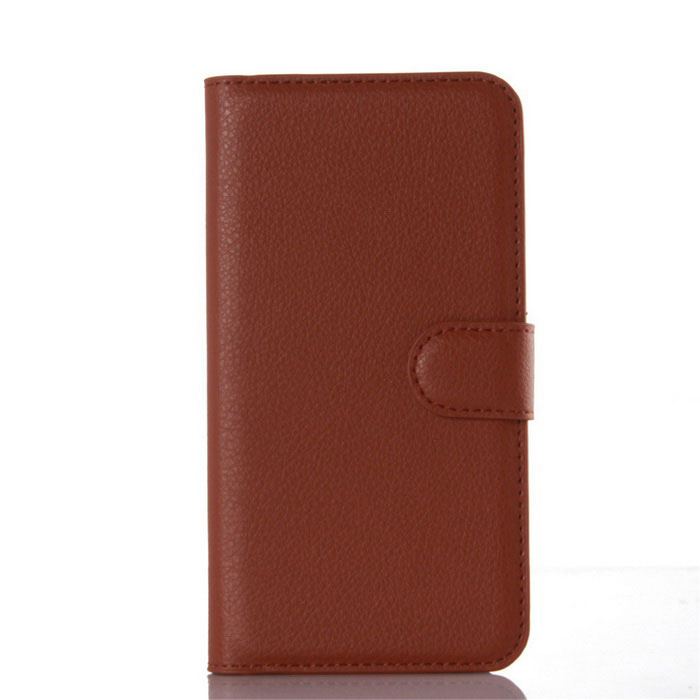 Lichee Pattern Protective Case for HUAWEI  ENJOY 5S - BrownLeather Cases<br>Form  ColorBrownModel001MaterialPUQuantity1 DX.PCM.Model.AttributeModel.UnitShade Of ColorBrownCompatible ModelsHUAWEI  ENJOY 5SFeaturesDust-proof,Abrasion resistance,Easy-to-remove,Holder functionPacking List1 * Case<br>
