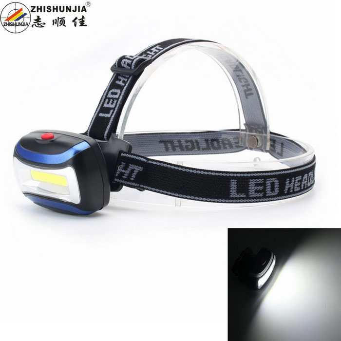 ZHISHUNJIA CH-2016 140lm 3-Mode Neutral White LED Sports HeadlampHeadlamps<br>Form  ColorBlue + Black + Multi-ColoredModelCH-2016Quantity1 DX.PCM.Model.AttributeModel.UnitMaterialABS plasticEmitter BrandOthers,COBLED TypeOthers,LEDEmitter BINothers,LEDColor BINNeutral WhiteNumber of Emitters1,9Working Voltage   1.2-1.5 DX.PCM.Model.AttributeModel.UnitPower Supply3*AAA (batteries not included)Current0.8 DX.PCM.Model.AttributeModel.UnitTheoretical Lumens200 DX.PCM.Model.AttributeModel.UnitActual Lumens140 DX.PCM.Model.AttributeModel.UnitRuntime4 DX.PCM.Model.AttributeModel.UnitNumber of Modes3Mode ArrangementHi,Low,Fast StrobeMode MemoryNoSwitch TypeClicky SwitchSwitch LocationSideLensPlasticReflectorPlastic SmoothBand Length58 DX.PCM.Model.AttributeModel.UnitCompatible CircumferenceAdjustableBeam Range30 DX.PCM.Model.AttributeModel.UnitPacking List1 * Headlamp1 * Headband<br>