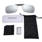 Reedoon 2202 Clip-on UV400 Protection Sunglasses Glasses Clip - Silver