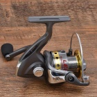 LE5000 Outdoor Sports kalastus Käsin Crank Metal Reel - Hopea