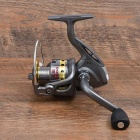 LE6000 Outdoor Sports Fishing Hand-Crank Metal Reel - Silver