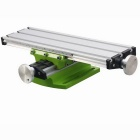 Mini Precision Milling Machine Working Table - Silver + Green