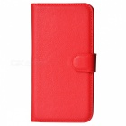 Lichee Pattern Protective Case for Sony Xperia Z2 - Red