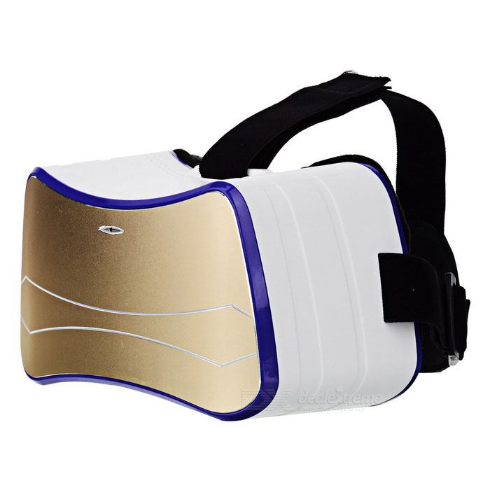 KICCY Virtual Reality Smart 3D Glasses - White
