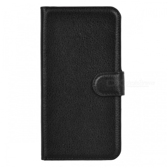 Lichee Pattern Protective Case for Sony Xperia Z2 - Black