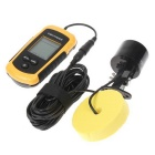 Fish Sonar Detector - Black + Yellow (4 * AAA)