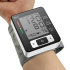 Full Automatic Intelligent Polso Sphygmomanometer elettronico - Nero