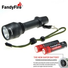 Outdoor Home XM-L2 U2 LED Cold White 988lm Flashlight w/ 18650 Battery + Knife Tool Set (1 * 18650)