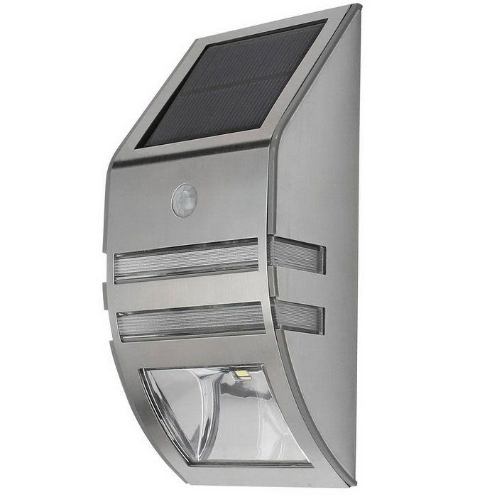 Jiawen 50lm Solar Powered Wall Body Induction Lamp - SilverSolar Lamps<br>Form  ColorSilverMaterialAluminumQuantity1 DX.PCM.Model.AttributeModel.UnitWaterproof LevelIP54Emitter TypeOthers,5730 SMDPower0.3 DX.PCM.Model.AttributeModel.UnitWorking Voltage   3.7 DX.PCM.Model.AttributeModel.UnitWorking Current0.5 DX.PCM.Model.AttributeModel.UnitBattery Capacity2000 DX.PCM.Model.AttributeModel.UnitBattery Charging Time4.5hWorking Time6~9 DX.PCM.Model.AttributeModel.UnitPacking List1 * Body induction lamp1 * Screw<br>
