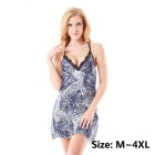 MingGeRui 9014 Women's Sexy Sleepwear Lingerie Dress + G-String Set