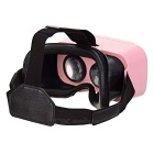 "SHINECON Virtual Reality 3D Glasses for 4.7~6"" Phones - Pink + Black"