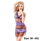 MingGeRui 9016 Women's Sexy Sleepwear Lingerie Dress + G-String Set