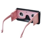 Head-mounted VR Glasses Type Case for IPHONE 6/6S - Rose Gold