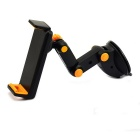 Universal Car Suction Cup Type Phone / Tablet Holder - Black + Yellow