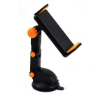 Universal Car ventosa Holder Type Phone / Tablet - Nero + Giallo