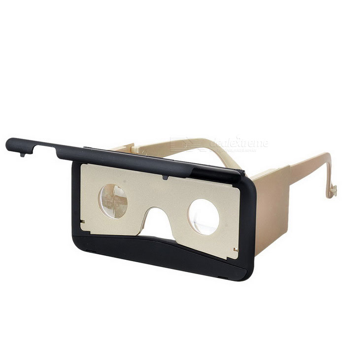 Head-mounted VR Glasses Type Case for IPHONE 6/6S - Black + Gold