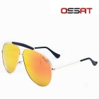 Outdoor 100% UV Protection Copper / Nickel Alloy Frame TAC Lens Sunglasses