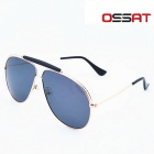 OSSAT 3045 Coating Polarized Sports Sunglasses - Gold + Grey