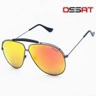 Fashion Outdoor 100% UV Protection Copper / Nickel Alloy Frame TAC Lens Sunglasses