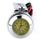 Motorbike USB Cigar Lighter Cellphone Charger with Clock - Silver