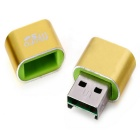 MAIKOU T18 USB 2.0 Micro SD Card Reader - Yellow + Green