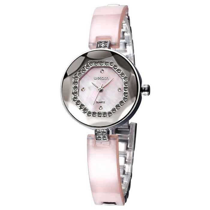 WeiQin 393302 Women's Quartz Analog Wrist Watch - Pink