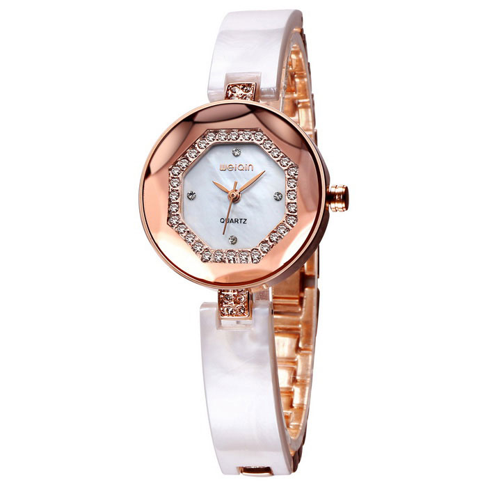 WeiQin 393304 Women's Quartz Analog Wrist Watch - Rose gold