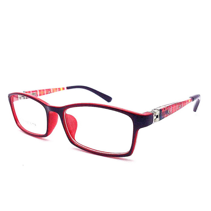 Pupils Ultralight Spring Legs Myopia Sunglasses - Red + White