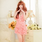 B308 Woman's Fashionable Sexy Lingerie Suit - Pink