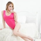 FanYang X10 Women Fashionable Sexy Lingerie Underwear Suit - Deep Pink