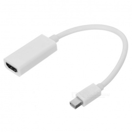 Mini DisplayPort DP to HDMI Adapter Cable - White