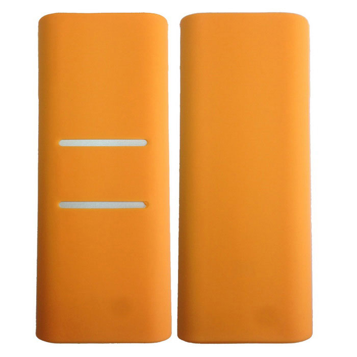 Silicone Protective Cover for Xiaomi 16000mAh Power Bank - Orange