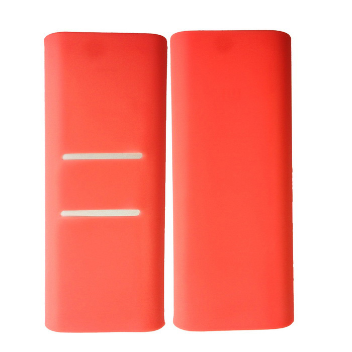 Silicone Protective Cover for Xiaomi 16000mAh Power Bank - Pink