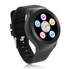 ZGPAX S99 Android 5.1 Smart Watch Phone w/ 8GB ROM - Black + Silver