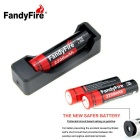 Kit FandyFire recargable de litio-ion 3.7V 2200mAh (1 * 18650)