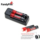 FandyFire Rechargeable 3.7V 2200mAh Lithium-ion Batteries Kit