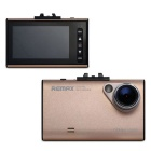 Remax-Cx01 2.7 Inch LCD 1080P HD Car DVR Driving Data Recorder - Gold