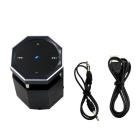 HY-L16 Wireless Bluetooth Touch Screen Speaker - Black