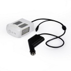 Outdoor Car Charger for DJI Phanton 4 Battery - Black