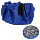 Convenient Children's Toys Storage Bag for Home / Beach Use
