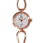 AIMEINI South Korean Style Ladies Quartz Analog Watch - Rose Gold