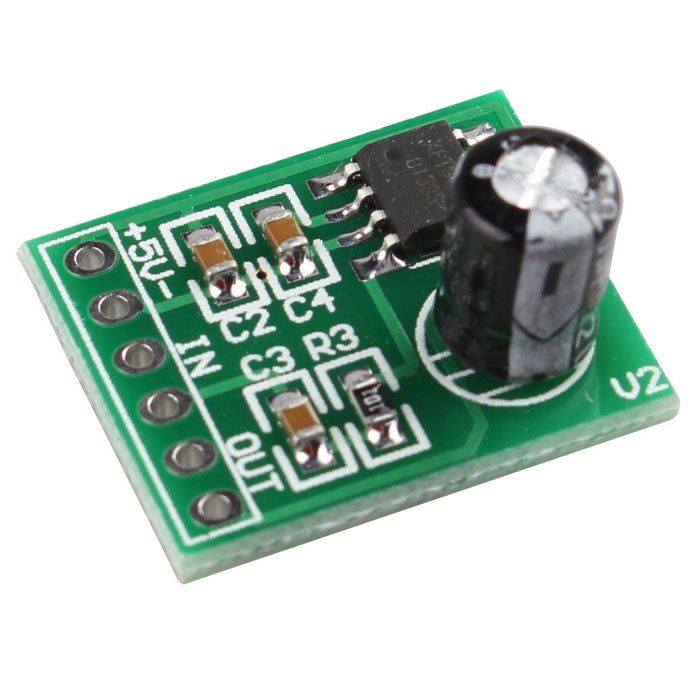 Mini 5V Single Channel Amplifier Board Module - Green