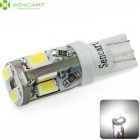 SENCART T10 3W Cool White 10-LED Error-Free Canbus Car Clearance Lamp