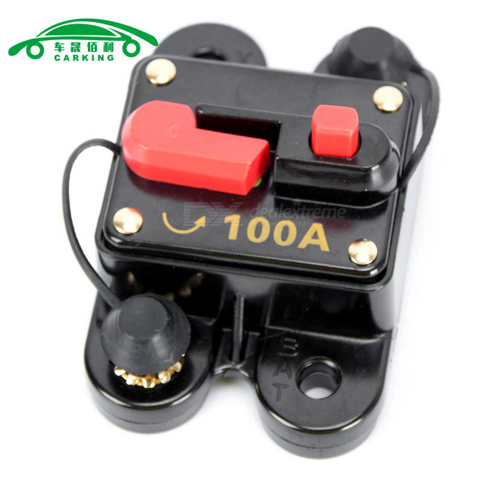 CARKING 100A Auto Audio Inline Sicherungshalter - multicolor