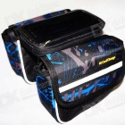 Cool Change Bicycle Touch Screen Top Tupe Bag - Black + Blue + Grey