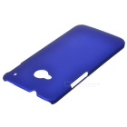 Protective PC Back Case for HTC M7 - Dark Blue
