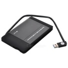 "Super Speed USB 3.0 2.5"" SATA HDD Enclosure - Black"