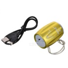 PINDO M6 bicicletas Mini Speaker w / TF, radio de FM - Golden