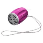 PINDO M6 Bicycle Mini Speaker w/ TF, FM Radio - Dark Pink
