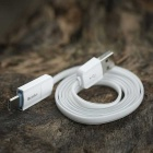 Benks Type C & Micro Charging Data Cable - White